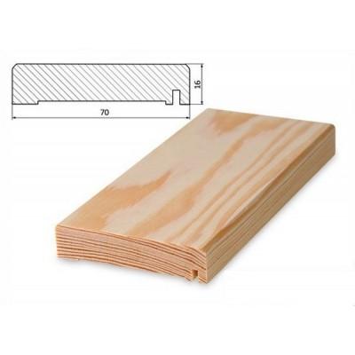 Přechodová lišta 70x16 borovice surová