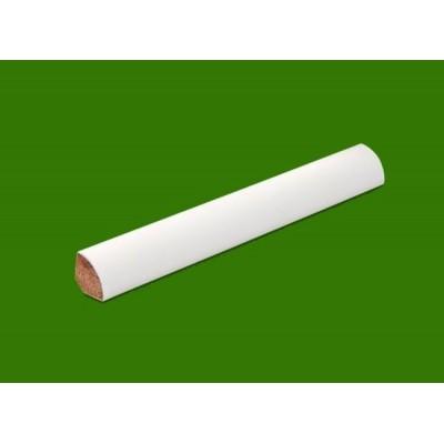 Podlahová lišta 12x12 lisovaná bílá