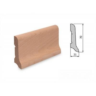Podlahová lišta 70x21 buk surový
