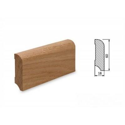 Podlahová lišta 60x18 dub surový