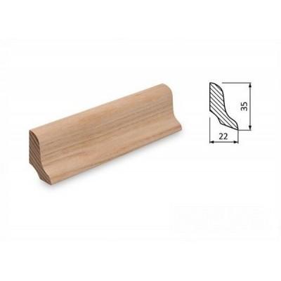 Podlahová lišta 35x22 jasan surový