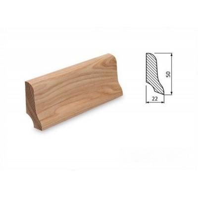Podlahová lišta 50x22 jasan surový