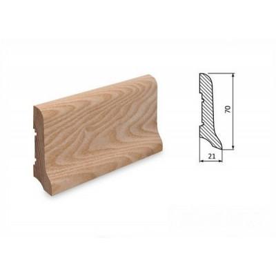 Podlahová lišta 70x21 jasan surový